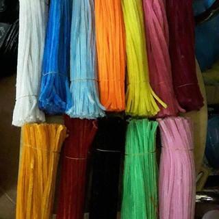 Kẽm nhung và kẽm kim tuyến dài 30cm, 1 bó 80 cọng chỉ 20k rẻ nhất shopee