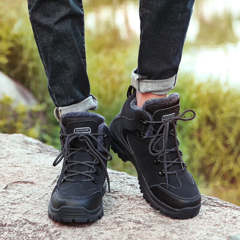 Couple Shoes Hiking Shoes Sneakers Breathable Wear Resistant