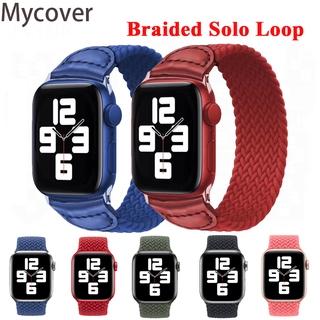 Dây đeo bện dây thay thế cho đồng hồ đeo tay Apple Watch SE Series 6 5 4 3 2 1 cỡ 38MM 40mm 42MM 44MM