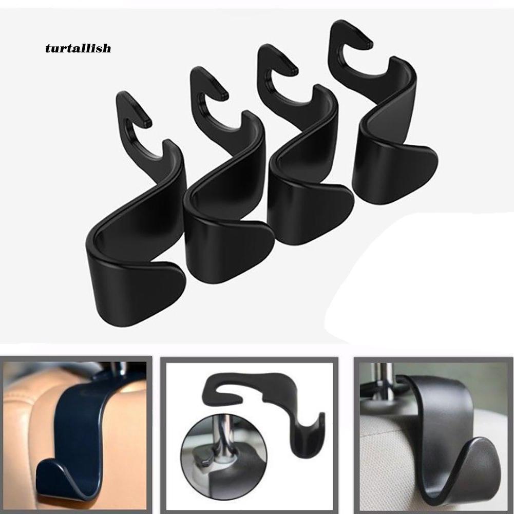TUR♥Universal Car Seat Back Hooks Vehicle Headrest Hanger Holder Auto Accessories
