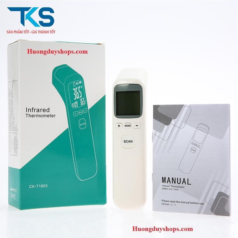Máy đo nhiệt kế hồng ngoại cho bé Infrared CK-T1803 - đo nhiệt độ nước và nhiệt độ cơ thể
