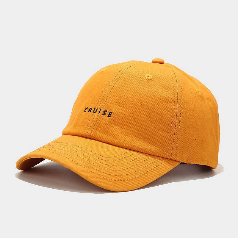 LINJW 2021 New soft Fashion student adjustable cotton baseball cap #4