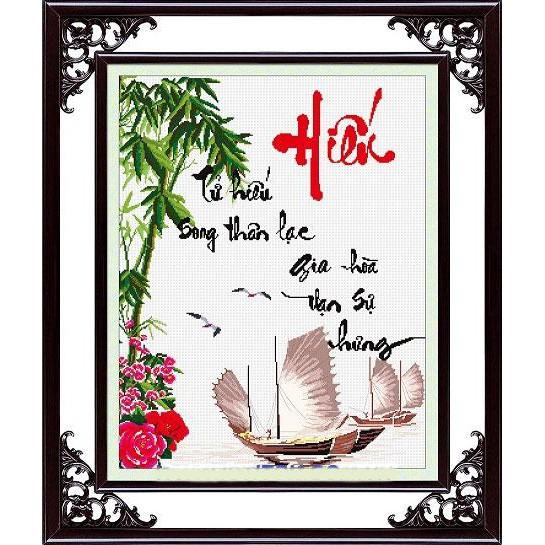 Tranh thêu chữ thập chưa thêu Tử Hiếu Song Thân Lạc, Gia Hoà Vạn Sự Hưng - 3272944 , 446752156 , 322_446752156 , 127000 , Tranh-theu-chu-thap-chua-theu-Tu-Hieu-Song-Than-Lac-Gia-Hoa-Van-Su-Hung-322_446752156 , shopee.vn , Tranh thêu chữ thập chưa thêu Tử Hiếu Song Thân Lạc, Gia Hoà Vạn Sự Hưng