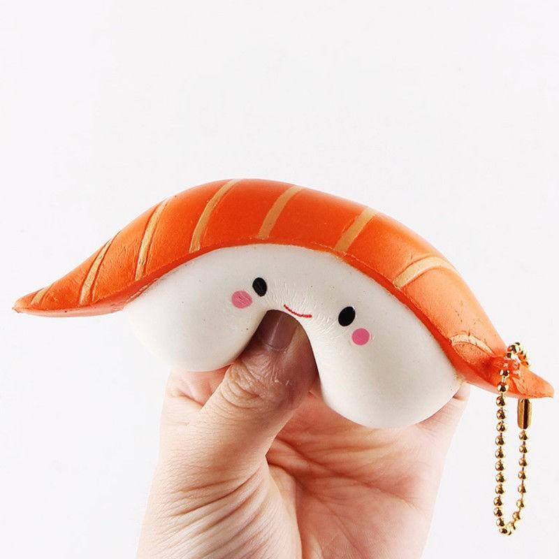Đồ chơi giảm căng thẳng hình miếng sushi
