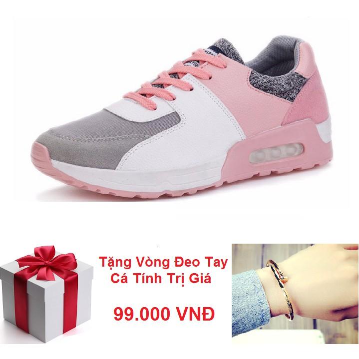 Giày Sneaker Nữ Hàn Quốc PASSO GSP016 Tặng Kèm Vòng Đeo Tay Cá Tính