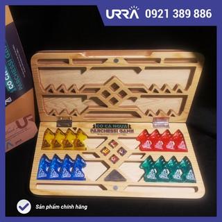 Bộ cờ cá ngựa Urra – Ludo Traveline (hand made)