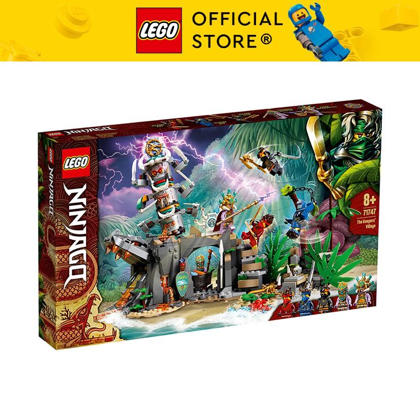 LEGO NINJAGO 71747 Ngôi Làng Rừng Xanh ( 632 Chi tiết)