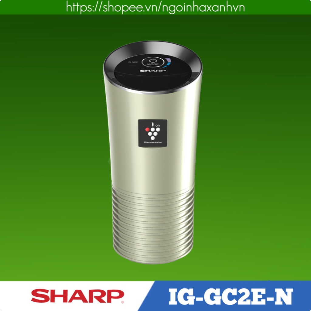 Máy lọc không khí, khử mùi trên ô tô Sharp IG-GC2E-N
