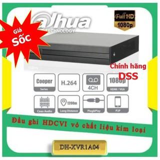 Đầu ghi hình Dahua 4 kênh DH-XVR1A04 Chính hãng DSS