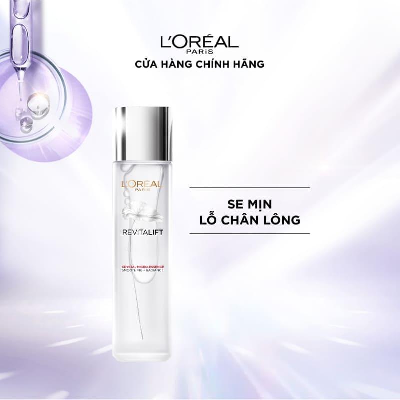 Dưỡng Chất Căng Mướt Da L'Oreal Paris Crystal Micro Essence (dưỡng da) 130ml