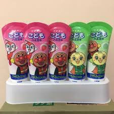 Kem Đánh Răng Cho Bé Lion 40g Nhật Bản [ Nuốt Được] Date Xa