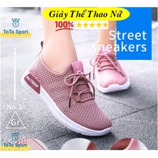 Giày Thể Thao Nữ SEO TSEXO siêu nhẹ, Giày tập gym, chạy bộ, chơi thể thao siêu xinh GH5 thumbnail