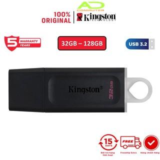 USB 3.2 Gen 1 Kingston DataTraveler Exodia DTX 32Gb DTX/32GB thời trang với nắp bảo vệ và móc khóa màu sắc