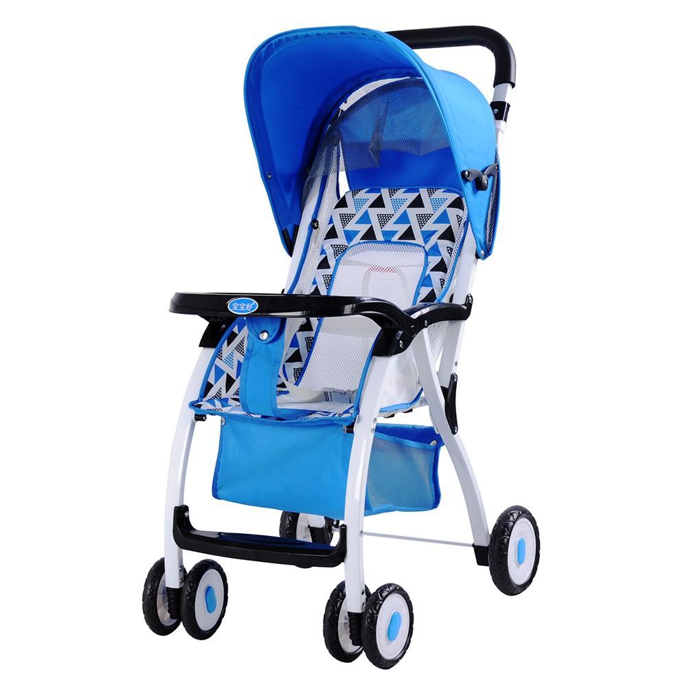 [Mã 267FMCGSALE giảm 8% đơn 500K] <Tặng 5 chiếc bỉm quần> Xe đẩy đa năng có mái xe gấp gọn siêu nhẹ cho bé