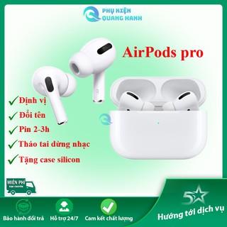 [Mã ELMSBC giảm 8% đơn 300K] Airpod Pro Bluetooth 5.0 - Đổi Tên Định Vị Xuyên Âm Chống Ồn