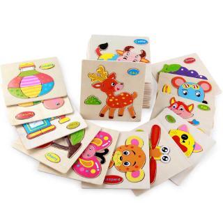 Bảng đồ chơi ghép mảnh gỗ tạo hình các con vật giúp phát triển nhận thức cho trẻ em thumbnail