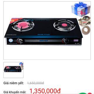 Bếp gas hồng ngoại bluestar NG-5680Ci