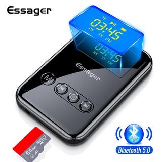 Máy Thu-Phát Âm Thanh Essager Cho PC TV Không Dây Bluetooth 5.0 Giắc Cắm 3.5mm Aux