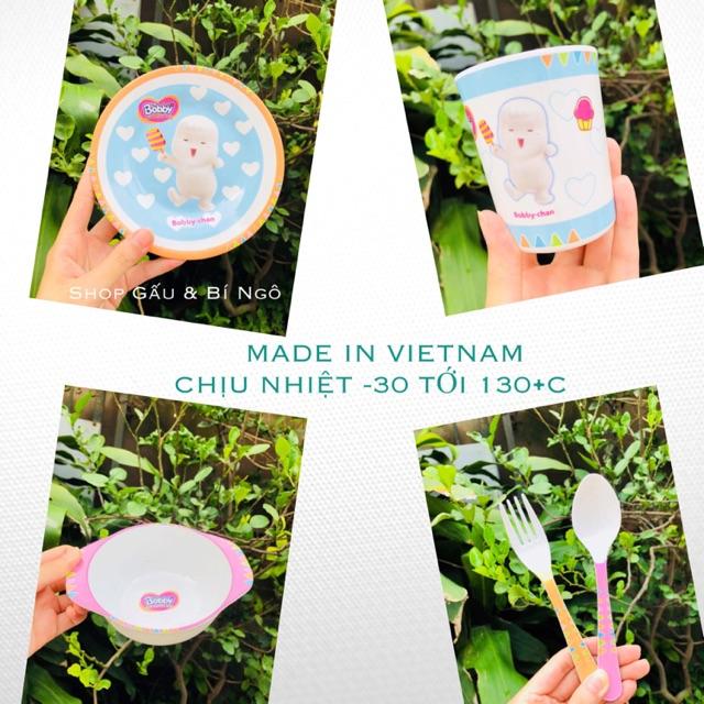 Set ăn dặm 5 món Bobby Chan