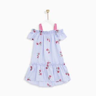 Áo đầm bé gái TRAPPY COLD SHOULDER M.D.K