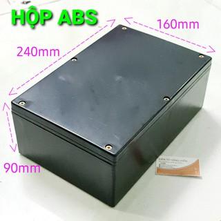 Hộp ABS 240x160x90mm. Hộp nhựa làm máy điện tử, làm ổ điện, đựng mạch điện… chống nước