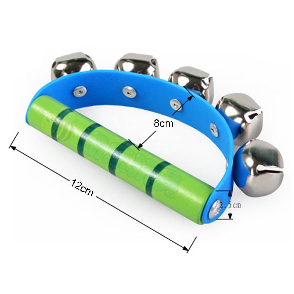 Shaking Tambourine Jingle Handbell Baby Toy Intelligent Educational Rhythm