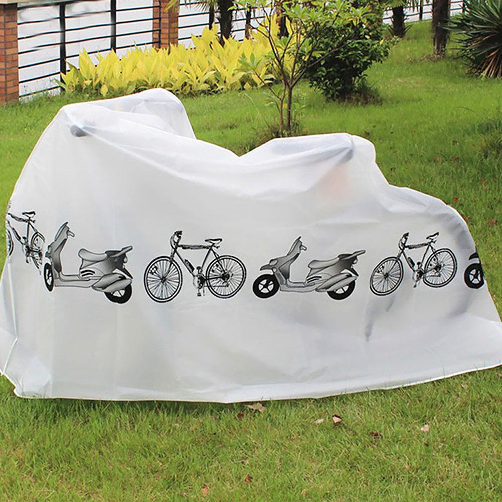 Brand New 210x100cm Bike Rain Snow Dust Cover Waterproof Outdoor Scooter Protector Gray For Bicycle Cycling