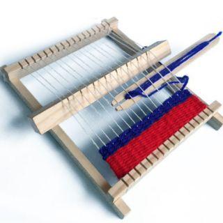 Đồ chơi gỗ khung dệt đan len cho bé