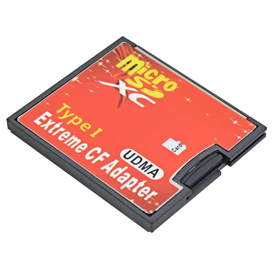 Adapter microsd to CF hoặc SD qua CF - SM52 SM53