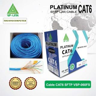 <NEW> Cáp mạng VP-LINK CAT6 SFTP VSP-060FS chống nhiễu
