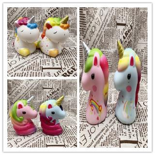 Squishy Jumbo 12cm Unicorn Bagus Slow Rising Soft Scented Colorful for Kids Gilrs Boys Birthday Gift