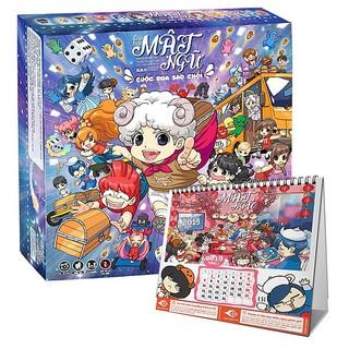 【Hàng Order】[Yuki] Board Game Lớp Học Mật Ngữ – Cuộc đua sao chổi (có thêm quà tặng của shop)