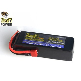 Pin Tiger 2s 7.4V 3000mah 30C