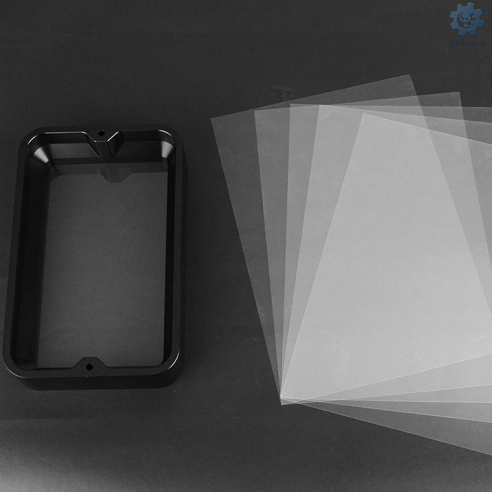 ➷ COD 3D Printer Accessories 5.5inch Material Rack for Light Curing Printer Resin Container FEP Film and Screws