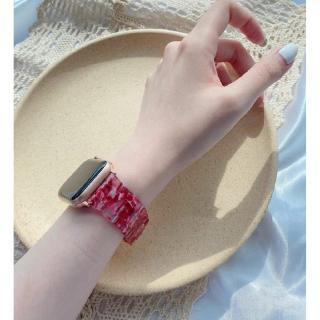 Apple Dây Đeo Nhựa Thay Thế Cho Đồng Hồ Thông Minh Iwatch5 4 / 3 / 2