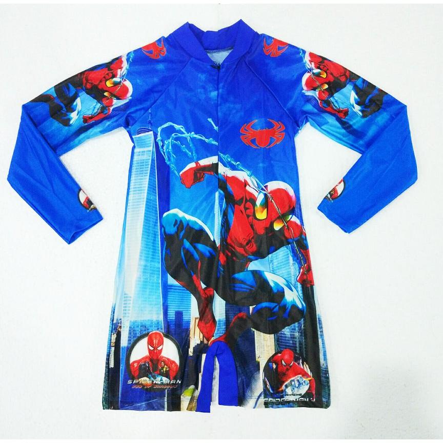 Đồ bơi bé trai Spider Man xanh biển liền dài tay - 3051395 , 699984559 , 322_699984559 , 140000 , Do-boi-be-trai-Spider-Man-xanh-bien-lien-dai-tay-322_699984559 , shopee.vn , Đồ bơi bé trai Spider Man xanh biển liền dài tay