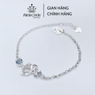 Lắc Tay Bạc Nữ Minh Canh Jewelry - Hồ Ly May Mắn thumbnail