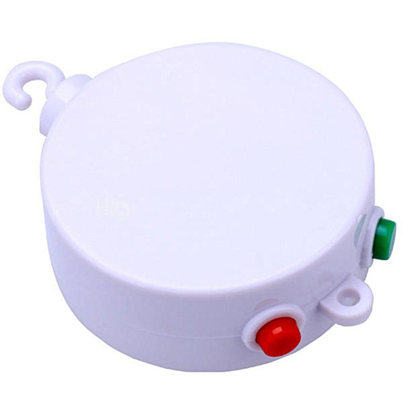 12 Melodies Songs Electric Music Box Baby Crib Bell Kid Bedding Toy Develop DIY