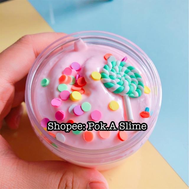 Slime Candy cream – chất butter slime (slime bơ)