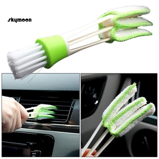 【SKY】 Car Auto Air Conditioning Vent Outlet Dust Removal Cleaning Brush Cleaner Tool