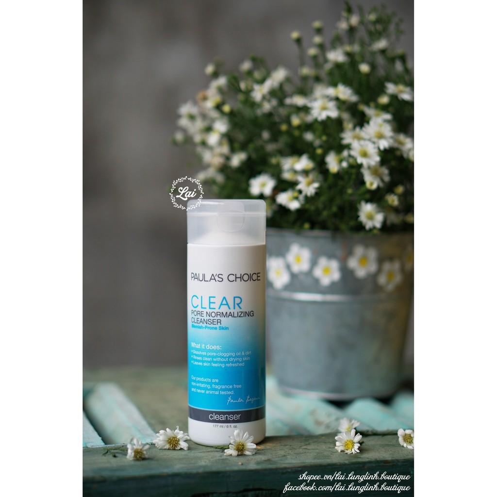 [Sữa rửa mặt cho da mụn chứa 0.5% Salicylic acid] Paula
