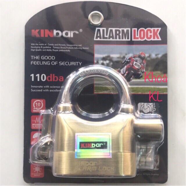 Ổ khoá báo động chống trộm KINBAR chính hãng