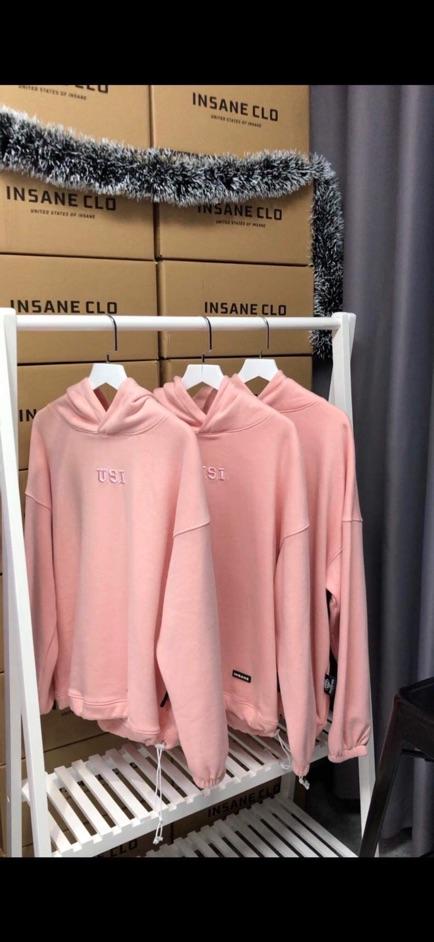 Áo Hoodie U.S.I Pink