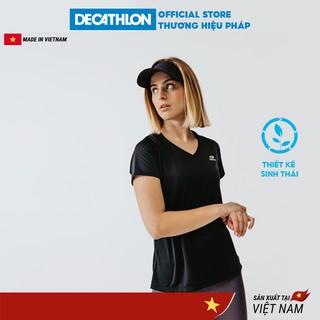 Áo thun thể thao nữ KALENJI run dry chuyên chạy bộ, nhanh khô - nhiều màu thumbnail