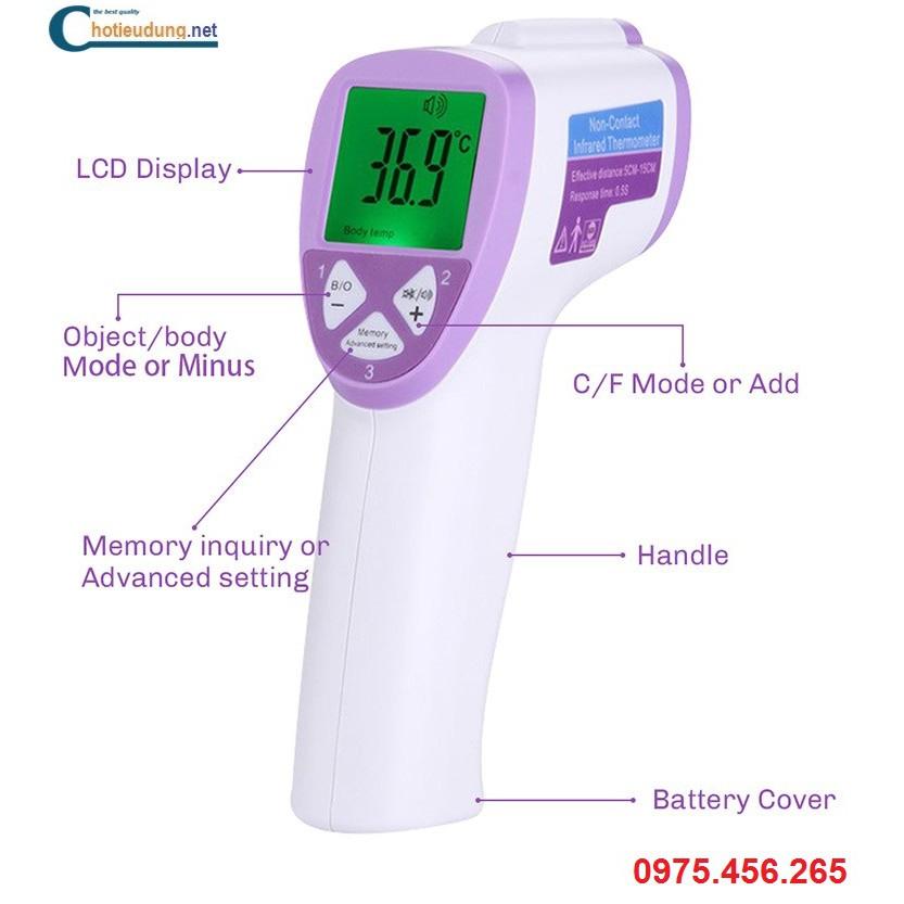Súng bắn hồng ngoại đo nhiệt độ cho trẻ chỉ 1 giây click cho ngay kết quả - 3566842 , 1274720819 , 322_1274720819 , 150000 , Sung-ban-hong-ngoai-do-nhiet-do-cho-tre-chi-1-giay-click-cho-ngay-ket-qua-322_1274720819 , shopee.vn , Súng bắn hồng ngoại đo nhiệt độ cho trẻ chỉ 1 giây click cho ngay kết quả