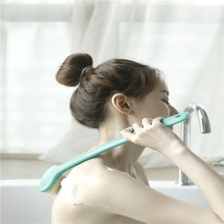 Body Brush for Dry Skin Brushing Dcrubber Exfoliating Skin and Cellulite Bamboo Bath Long Dandle