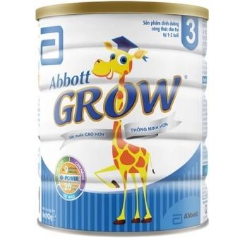Combo 3 Sữa bột Abbott Grow 3 900g