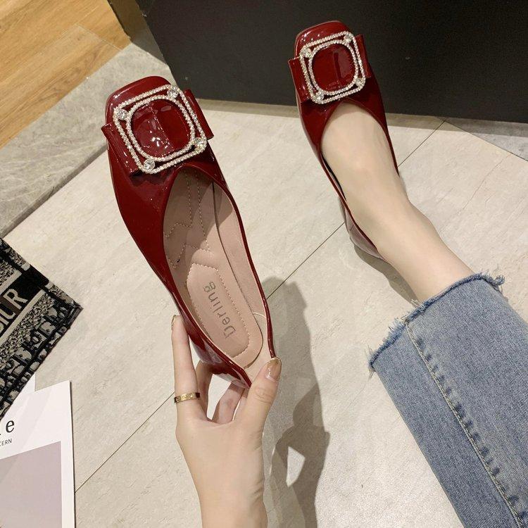 Giày Lười Đế Bằng Thời Trang Cho Nữ