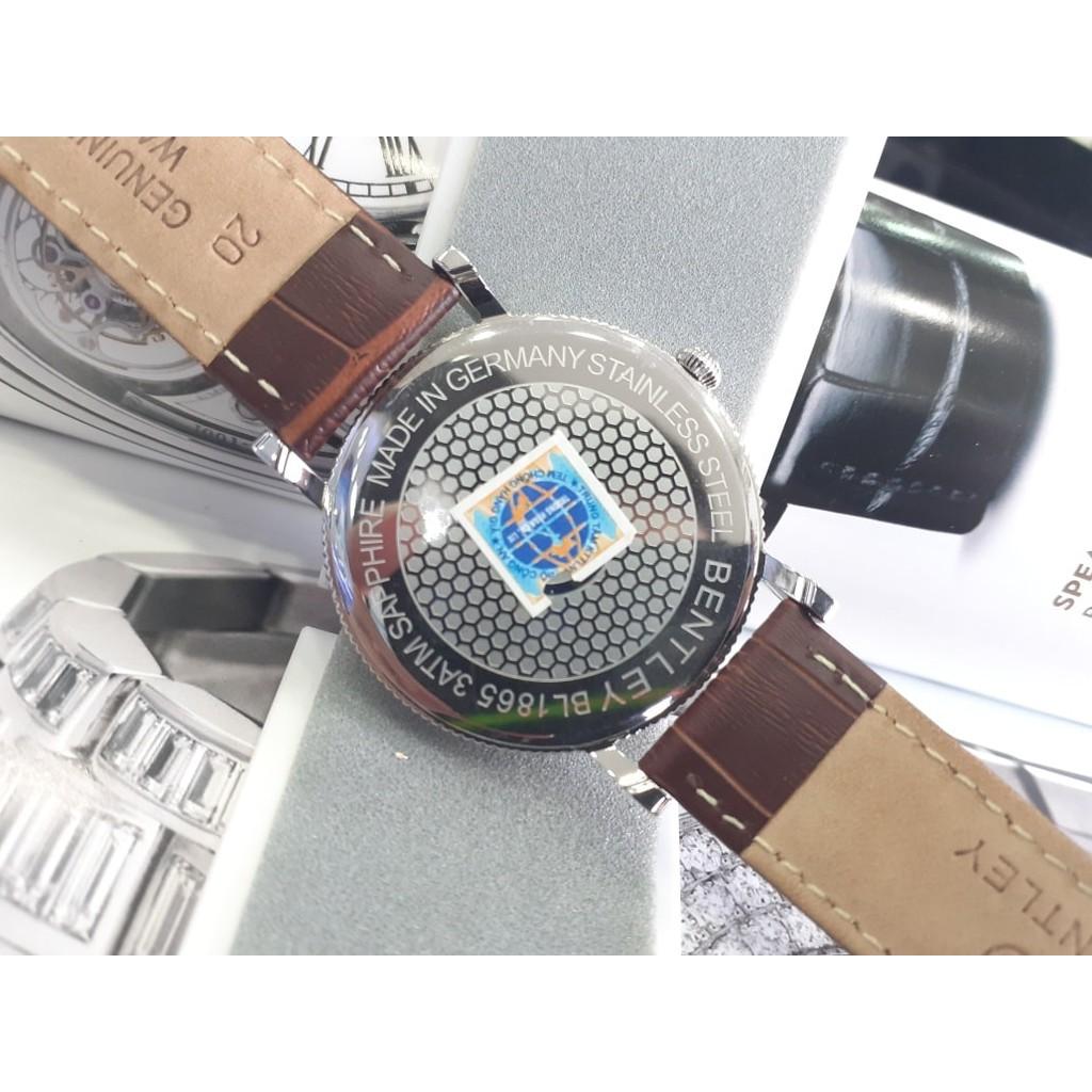 Đồng hồ nam dây da Bentley BL1865 BL1865-30 BL1865-30MWDD