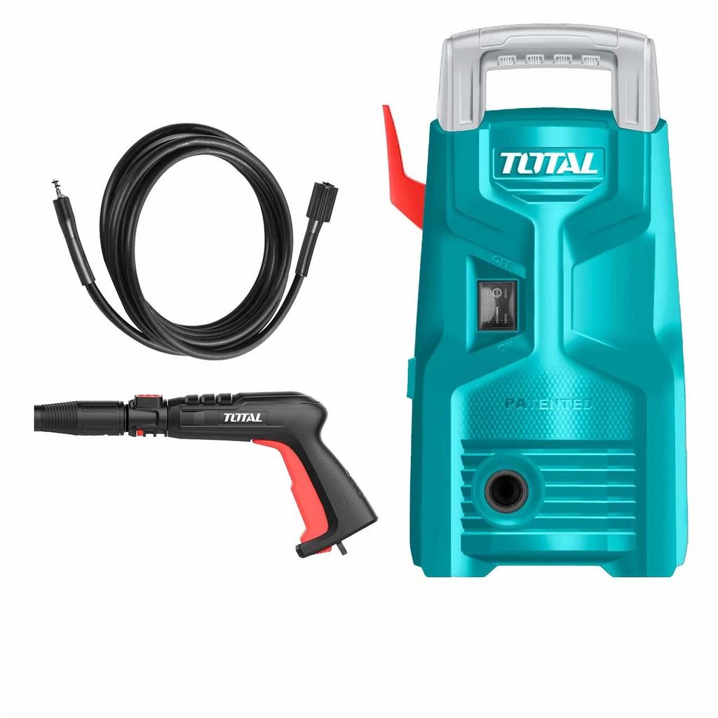 Máy rửa xe áp suất , máy xịt rửa 1200W Total TGT113026 - Máy xịt rửa và phụ  kiện Nhãn hàng TOTAL